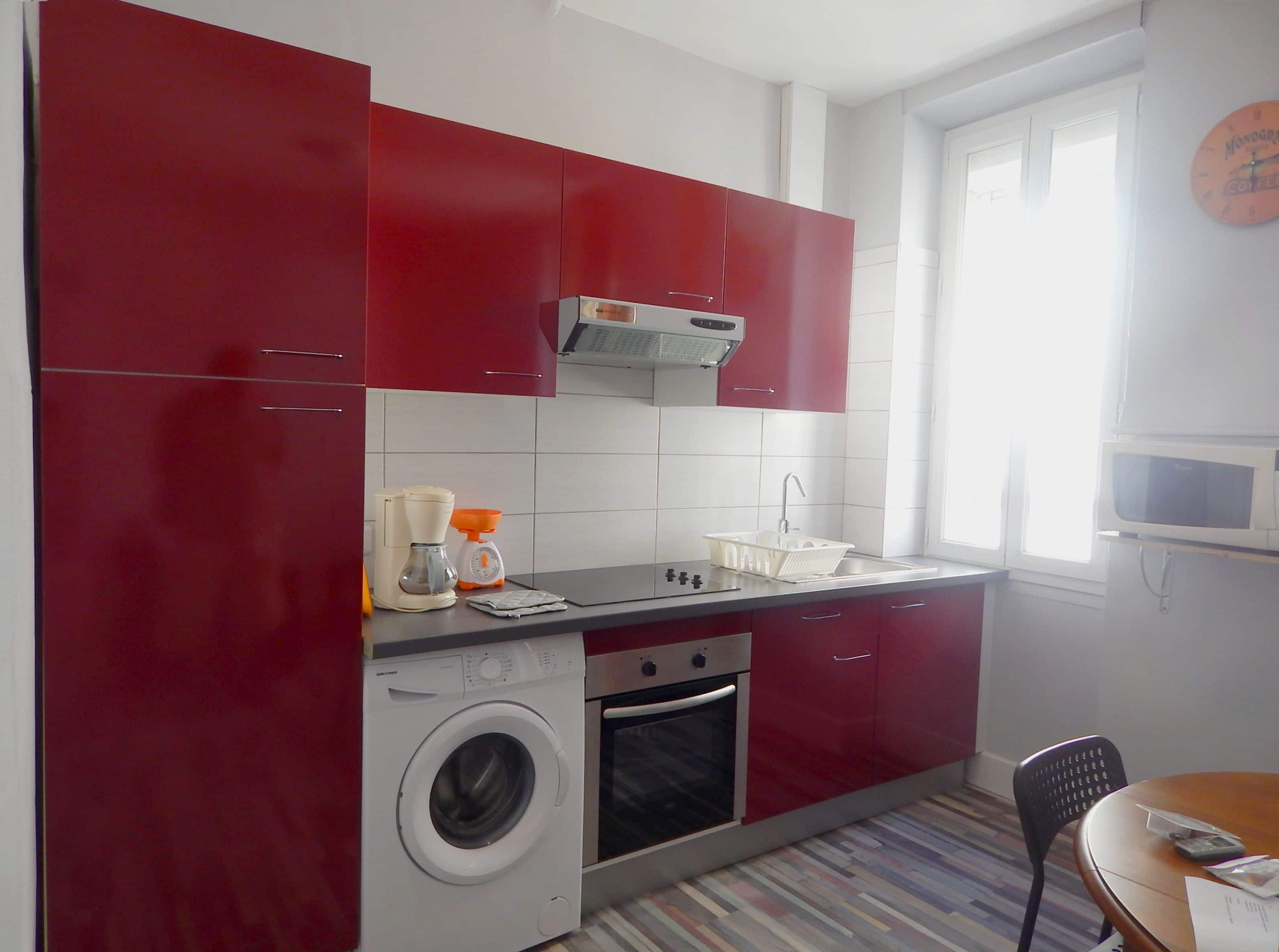 Appartement meubl a louer marseille 13010 type 2 for Location studio meuble marseille